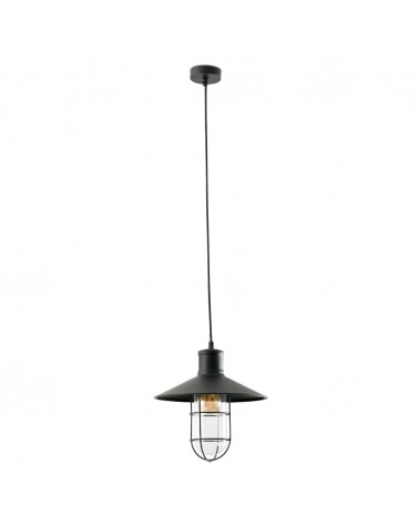 MARINA Black pendant lamp