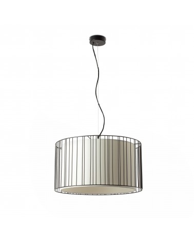 LINDA Black pendant lamp