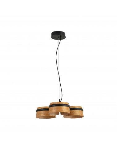 LOOP LED Black pendant lamp