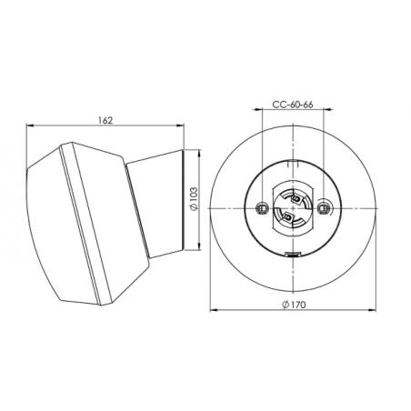 IE_6095-800-10 Ifo Electric Classic Ifökupa LED Ø170