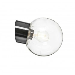 IE_6045-510-10 Ifo Electric Classic Globe clear glass Ø180