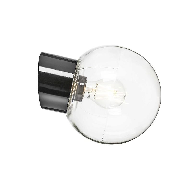 IE_6045-510-10 Ifo Electric Classic Globe clear glass Ø180