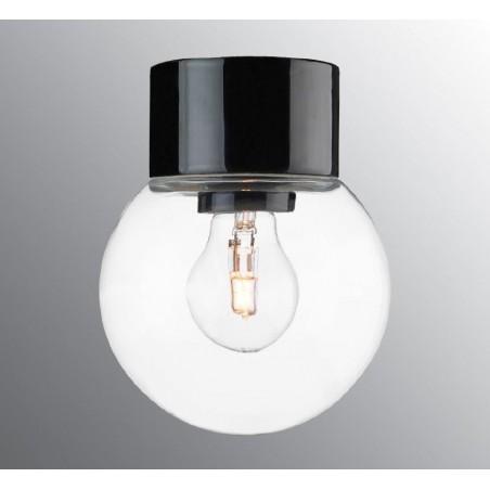 IE_6042-510-10 Ifo Electric Classic Globe clear glass Ø200