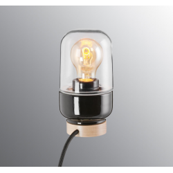 IE_8312-510-10 Ifo Electric Ohm Table Lamp 100/190 Clear Glass