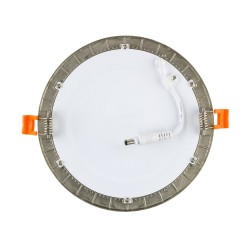 TP-00.22.106 Silver Round 6W UltraSlim LED Panel