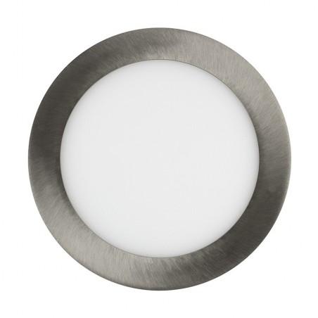 TP-00.22.112 Silver Round 12W UltraSlim LED Panel