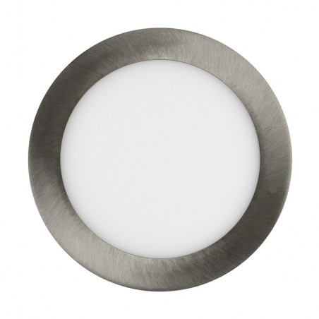TP-00.22.118 Silver Round 18W UltraSlim LED Panel