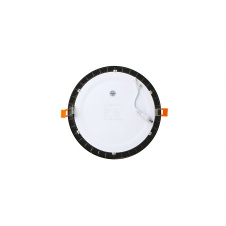 TP-00.99.106 Black Round 6W UltraSlim LED Panel