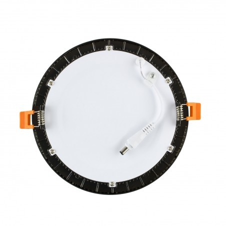 TP-00.99.118 Black Round 18W UltraSlim LED Panel