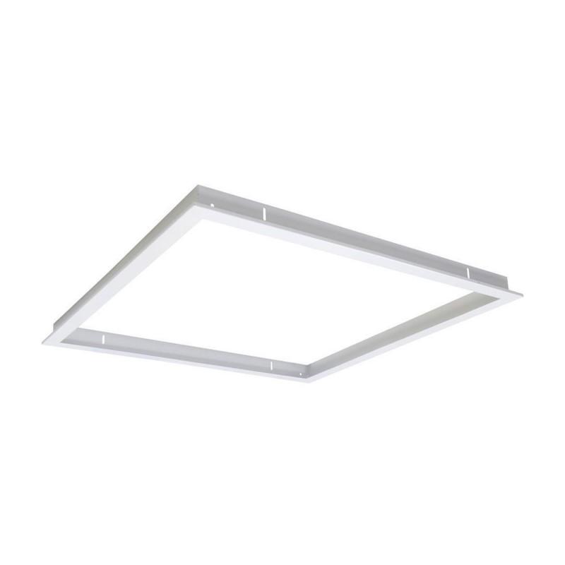 PL-060.060.RF.03 White Recessed Frame for 60×60 LED Panel