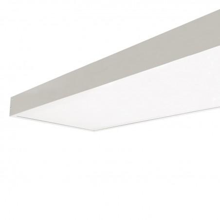 PL-SK.120.030.04 White Surface Kit for a 120x30cm LED Panel