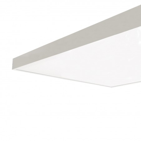 PL-SK.120.060.05 White Surface Kit for a 120x60cm LED Panel