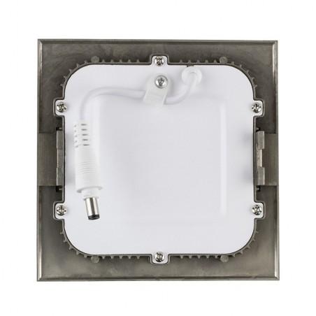 TP-04.22.106 Silver Square 6W UltraSlim LED Panel