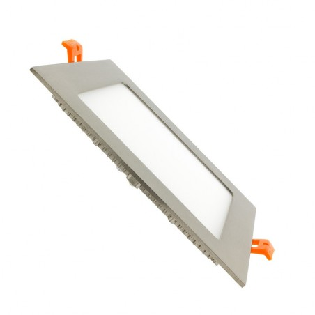 TP-04.22.112 Silver Square 12W UltraSlim LED Panel
