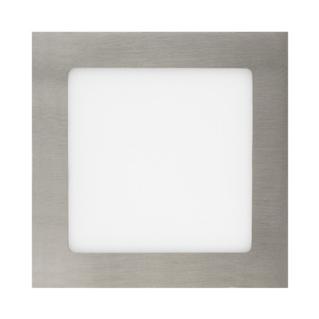 TP-04.22.115 Silver Square 15W UltraSlim LED Panel