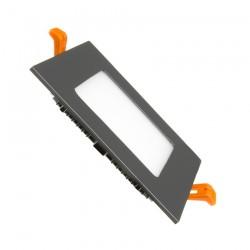 TP-04.99.106 Black Square 6W UltraSlim LED Panel
