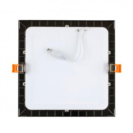 TP-04.99.112 Black Square 12W UltraSlim LED Panel