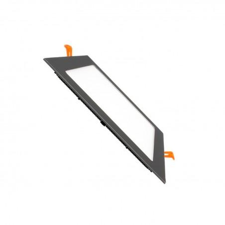 TP-04.99.115 Black Square 15W UltraSlim LED Panel