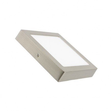 SP-40.22.018 Silver Square 18W LED Surface Panel