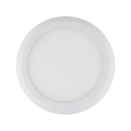 SP-08.01.012 White Round Design 12W LED Surface Panel