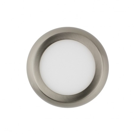 SP-08.22.006 Silver Round Design 6W LED Surface Panel