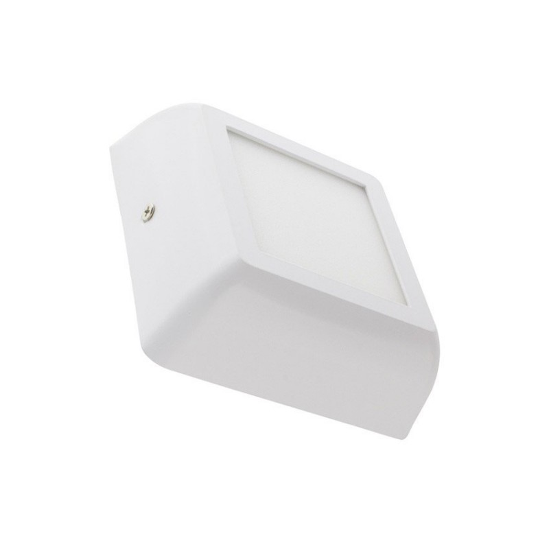 SP-42.01.006 White Square Design 6W LED Surface Panel