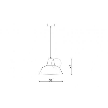 LC_929 FLIP Vintage Pendant Lamp