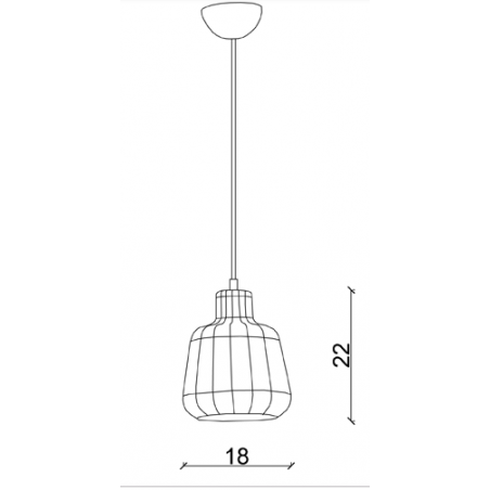 LC_104 WENDY Vintage Pendant Lamp