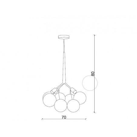 LC_137 TRIUMPH Pendant Lamp