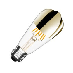 EL_24603846 Filament LED Bulb (Dimmable) Gold Reflect ST64 E27 7.5W