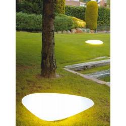 Outdoor Floor Lamp Stone LED