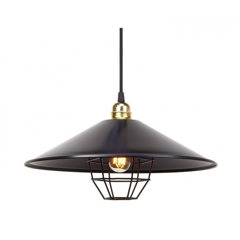 Vintage Pendant Lamp Harlem Grid By