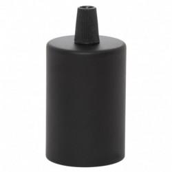 E27 Bulb Holder Line Black