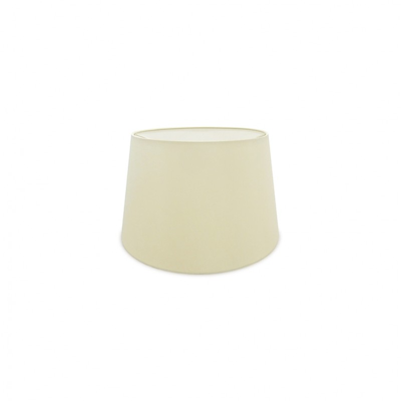 DY_D0298 35 cm Conical Fabric Lampshade Ivory Pearl/White Laminate