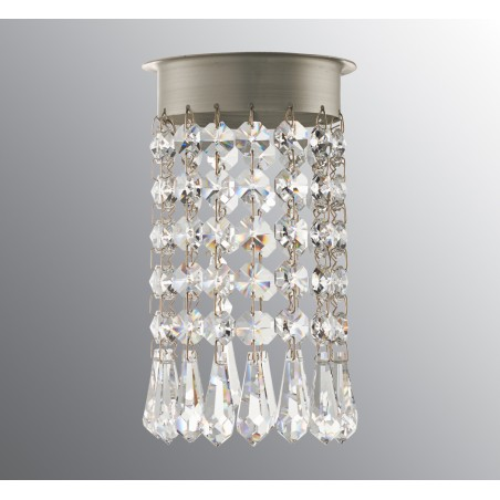 IE_6303-10 Ifo Electric Crystal chandelier for Opus 120 beads + drop brilliant cut