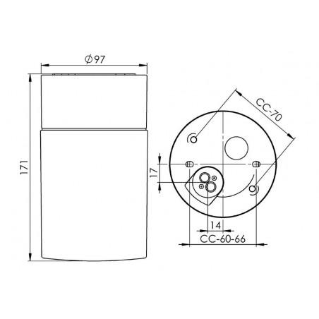 IE_8240-509-10 Ifo Electric Opus 100/175 Sauna IP44